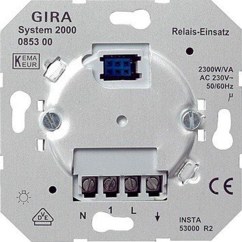 Gira 085300 Relais-Einsatz System 2000 (Einsätze)