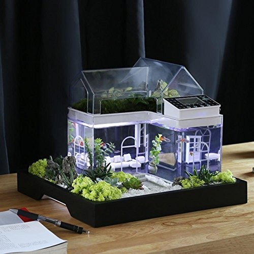 Acrylic-Mini-Micro-Landscape-Aquarium-Office-Desk-Small-Personal-Ecology-Multifunctional-Living-Room-Creative-Aquarium-USB-Powered-LED-fish-tank-lights