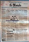 Telecharger Livres MONDE LE No 14022 du 25 02 1990 M MITTERRAND ET L ASIE DU SUD LA FRANCE VA ACCORDER DES CREDITS A LA CHINE L ALLIANCE RENAULT VOLVO PREFIGURE L OUVERTURE DU SECTEUR NATIONALISE PAR ERIC LE BOUCHER LE NIGERIA EN QUETE D AMIS PAR JEAN DE LA GUERIVIERE LES TENSIONS EN URSS LES ELECTIONS AU NICARAGUA BAISSE DU CHOMAGE TELEVISION LE SEPTIEME RESEAU GRAND JURY RTL LE MONDE M CHARASSE EN GRAND EQUIPAGE PAR JEAN YVES LHOMEAU (PDF,EPUB,MOBI) gratuits en Francaise
