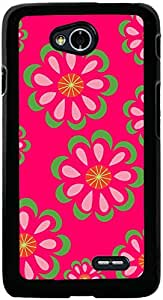 PrintVisa 2D-LGL70-D7962 Pattern Abstract Floral Case Cover for LG L70