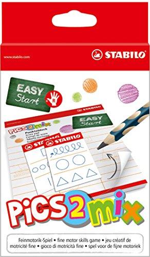 Preisvergleich Produktbild Feinmotorik-Spiel - STABILO pics2mix - 2-6 Spieler ab 5 Jahren - für Rechtshänder