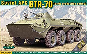 Ace 72164-Maqueta de BTR de 70Soviet Armored Personnel Carrier
