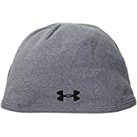Under Armour Men's Survivor Fleece Beanie Gorra, Mujer, Gris, Talla Única