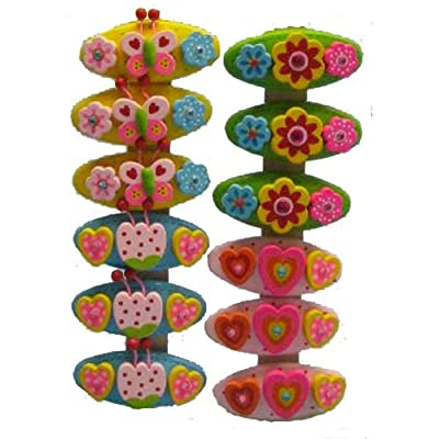 Beautiful Wooden Children Hairclips / Accessories BY AM Leg