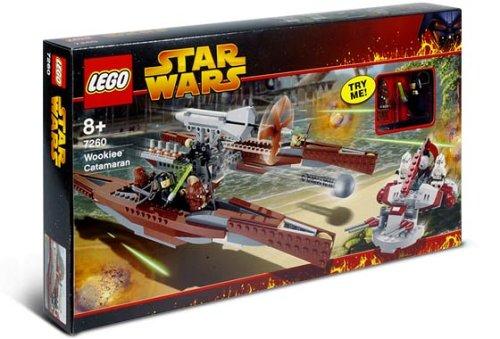 Lego Star Wars 7260 - Wookiee Catamaran (Lego Star Wars 75084)