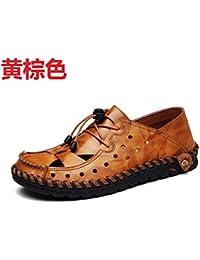 Elite Chaussures spécial Piscine et Plage pour Homme Marron foncé - - Marron foncé, 40 EU EU