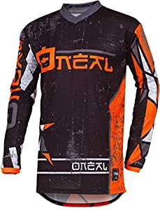 2019 O /'Neal Element RACEWEAR NERO JERSEY MAGLIA MX MOTOCROSS MTB DH ENDURO