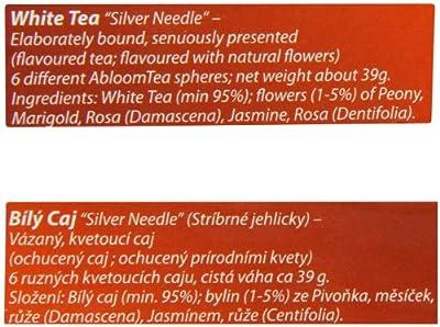 """Creano 008 Geschenkset ErblühTee """"Weißer Tee"""", 6 ErblühTeekugeln, 1 Teekanne 500 ml, ErblühTee im Original von Creano auf Gewürze Shop"""