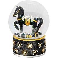 20019 Bola de nieve navidad caballito balancín con regalos medida 120 mm