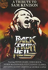 Back From Hell: A Tribute to Sam Kinison [DVD] [2010] [Region 1] [US Import] [NTSC]