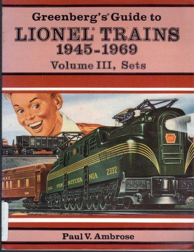 Greenbergs Guide to Lionel Trains 1945-1969: 003 por Bruce C. Greenberg