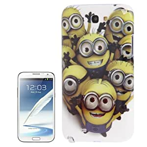 Minions Pattern Plastic Case for Samsung Galaxy Note 2 N7100