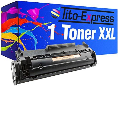 Toner XL PlatinumSerie Schwarz für HP Q2612A 12A Laserjet 1010 1012 1015...
