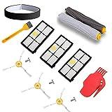 aotengou Kit de Remplacement pour kit de Réapprovisionnement iRobot Roomba Série 800/900 pour 800/900 805 860 861 865 866 870 871 880 885 960 966 980