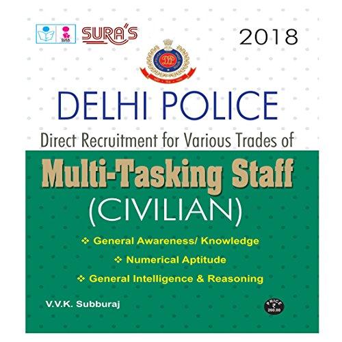 Delhi Police Multi Tasking Staff (MTS) Civilian Exam Books 2018