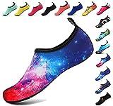 BOLOG Chaussures Aquatiques pour Enfants Filles Garçons Chaussures de Sport Chaussures de Plage Chaussures d'eau Piscine Surfer Yoga Nautique Plongée Aqua