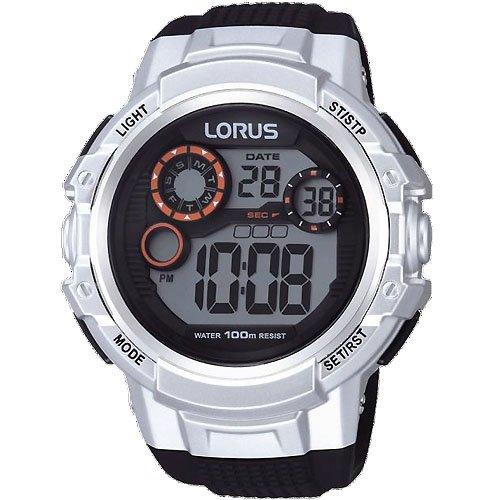 Lorus by Seiko R2311KX9 Mens Digital Sports Watch Stopwatch Alarm 100 Metres Backlight