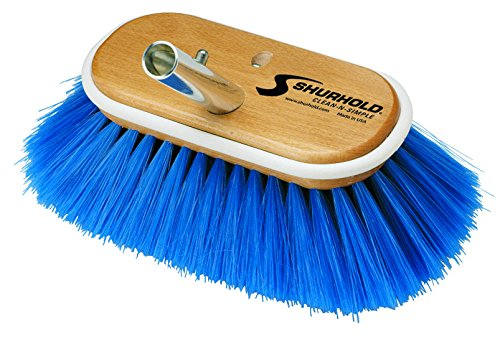 Price comparison product image Shurhold 658-970 Extra Soft Blue Nylon Cover Brush,  150 mm
