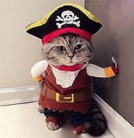 ce chien de chien, les pirates de chat du style des Caraïbes transforme votre adorable animal en un pirate drôle des Caraïbes, il est élégant et confortable. parfait pour l'usage quotidien, les fêtes, les vacances et les divertissements à domicile.  ...