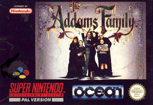 The Addams Family SNES