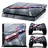 Morbuy Ps4 Skin Consola Design Foils Vinyl Pegatina Sticker And 2 Playstation 4 Dualshock Controlador Skins Set (Coche)