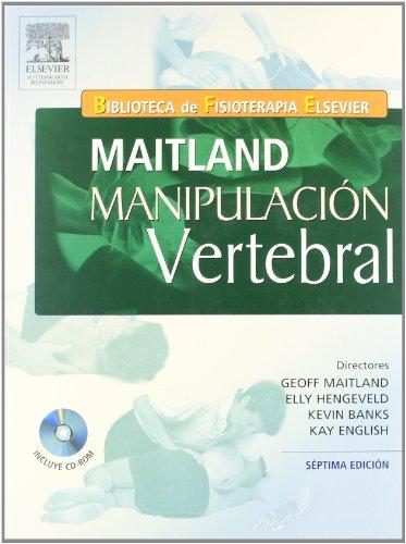 MAITLAND. Manipulación vertebral + CD-ROM por G.D. Maitland