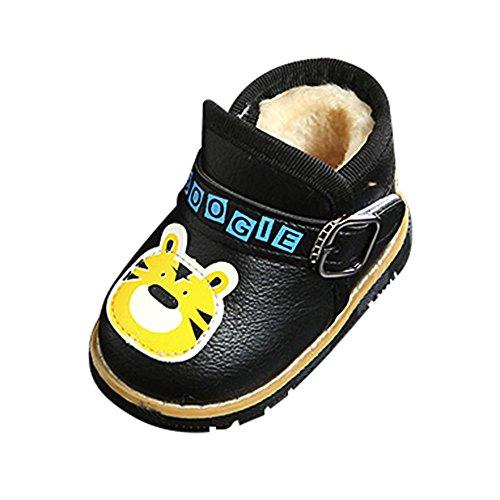Chaussures Bébé Binggong Bébé Chaud Bébé Garçons Filles Martin Cartoon Sneaker en Cuir Enfants Chaussures Casual-Sneakers Basses Mixte bébé
