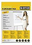 Bi-Office Flipchartblock A1, Kariert, 20 Blättern, 70 g/m² Papier