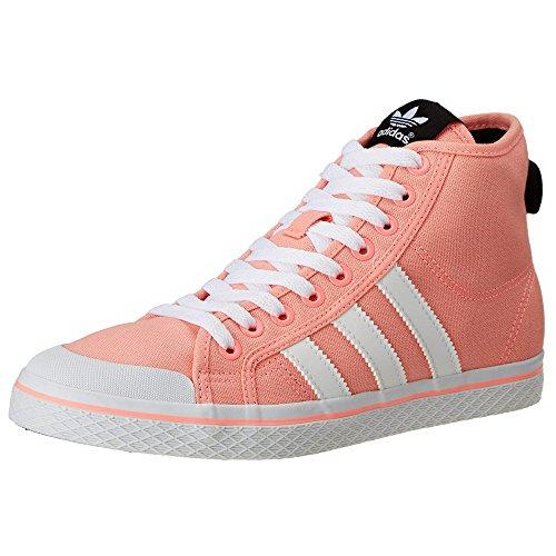 Adidas Honey Mid W, Scarpe sportive, Donna Rose-Blanc