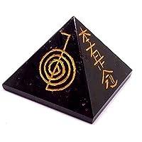 groß schwarzer Turmalin Usai graviert Pyramide Reiki Charged Cotton Kristall Schutz preisvergleich bei billige-tabletten.eu