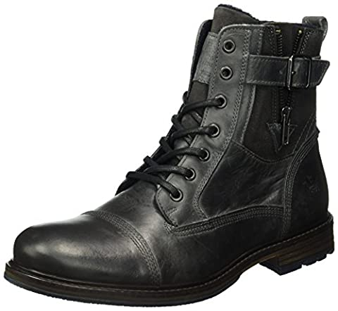 Mustang Herren 4890-503 Kurzschaft Stiefel, Grau (20 Dunkelgrau), 40 EU