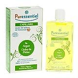 Puressentiel - Huile de Soin et Massage Bio Capillaire - Argan et Cèdre de l'Atlas- 100 ml