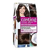 L'Oréal Paris Colorazione Capelli Casting Crème Gloss, Tinta Colore senza Ammoniaca, Fragranza Piacevole, 300 Castano Scuro