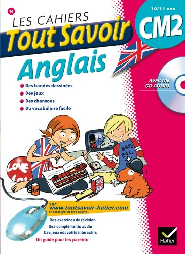 Les cahiers Tout Savoir Anglais CM2