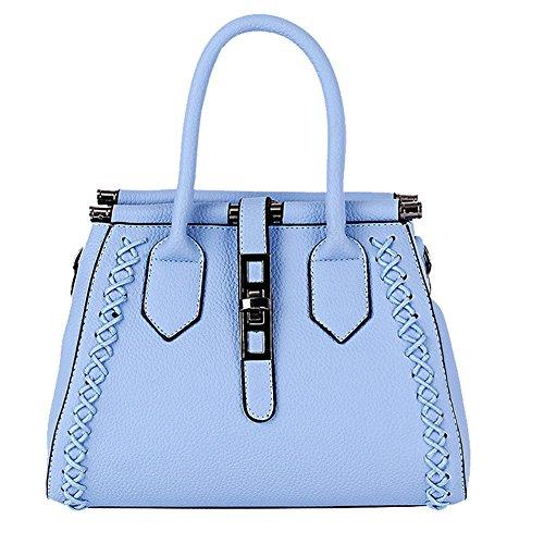 SHUhua - Borsa a tracolla donna light blue