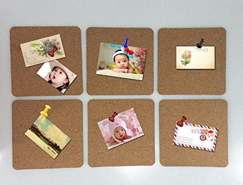 6/Set Schule Klassenzimmer Cork Board Aufkleber Foto Wand Aufkleber Sofa Hintergrund Wall Baby Wachstum Record Fügen