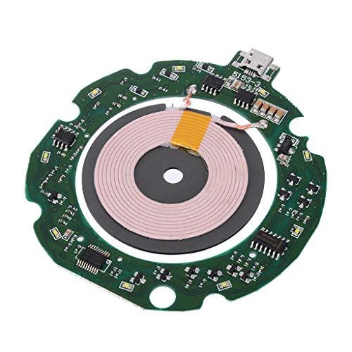 NAIXUE 10W Qi Standard Schnelles drahtloses Ladegerät Leiterplatte Sendermodul mit Spule DIY für Smartphones Zubehör