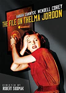 The File on Thelma Jordon [DVD] [1950] [Region 1] [US Import] [NTSC]