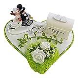 Der-kleine-Dekoladen Geldgeschenk zur Hochzeit Motorroller Motorrad Roller grüne Hochzeit Geld...