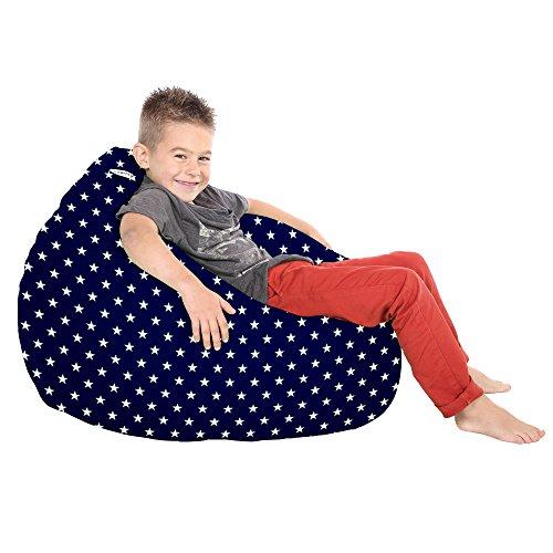rucomfy Bean bags Trend für Kinder mit Sternen Sitzsack navy