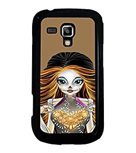 Fuson Designer Back Case Cover for Samsung Galaxy S3 Mini I8190 :: Samsung I8190 Galaxy S Iii Mini :: Samsung I8190N Galaxy S Iii Mini (Unique Girl Beautiful Girl Stunning Pretty Lovely)