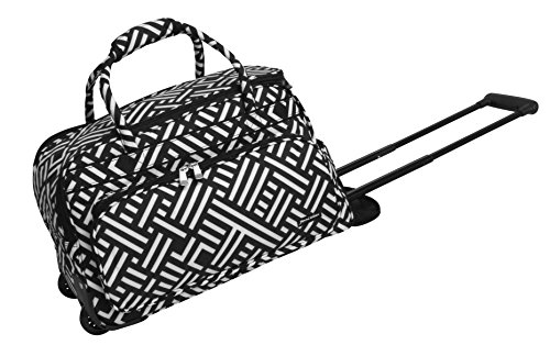 jenni-chan-signature-deluxe-carry-all-rolling-duffel-black-white-one-size