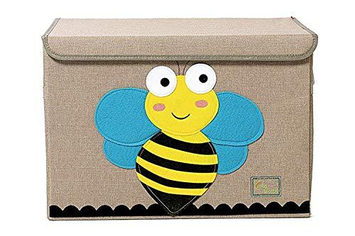 Gran caja de almacenamiento con tapa, plegable y resistente, ideal para que...