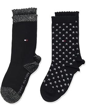 Tommy Hilfiger Mädchen Socken, 2er Pack