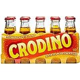 Crodino - Aperitivo Biondo, 100 ml (Pacco da 10)