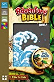 NIV Adventure Bible: New International Version, Gray, Leathersoft: Full Color Inside