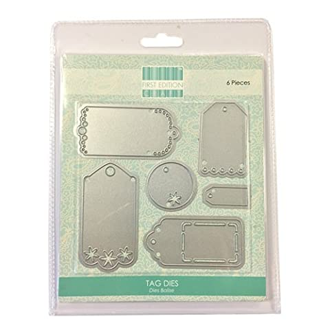 First Edition Metal Crafting Dies - Tags (Magnetic Storage)