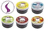 Shiazo steam stones Pack mélangé, 5 types de granules de pierre Substitut de tabac sans nicotine