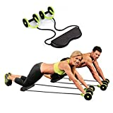 #9: 5 Minutes Exercise Roller With Handy Carry Bag - Complete Body Workout Machine - Black