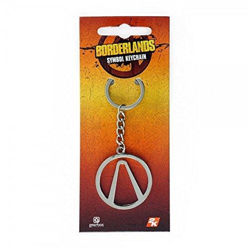 (Borderlands - Metall Schlüsselanhänger - Logo)